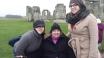 Mel, Teal, Tiff at Stonehenge