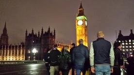 Teal at Big Ben London