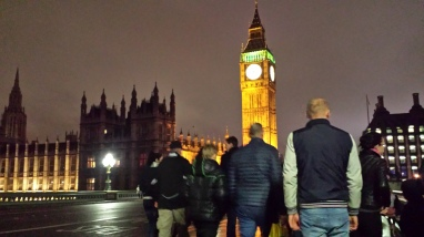 Teal at Big Ben London
